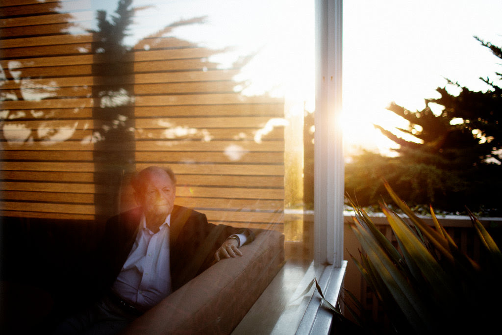 "Taking ayahuasca six years ago ""changed my life completely,"" said George Sarlo, pictured at his home in San Francisco."