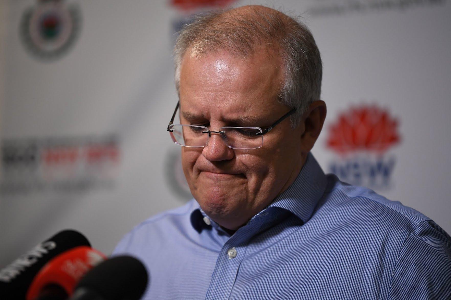 Prime Minister Scott Morrison of Australia.