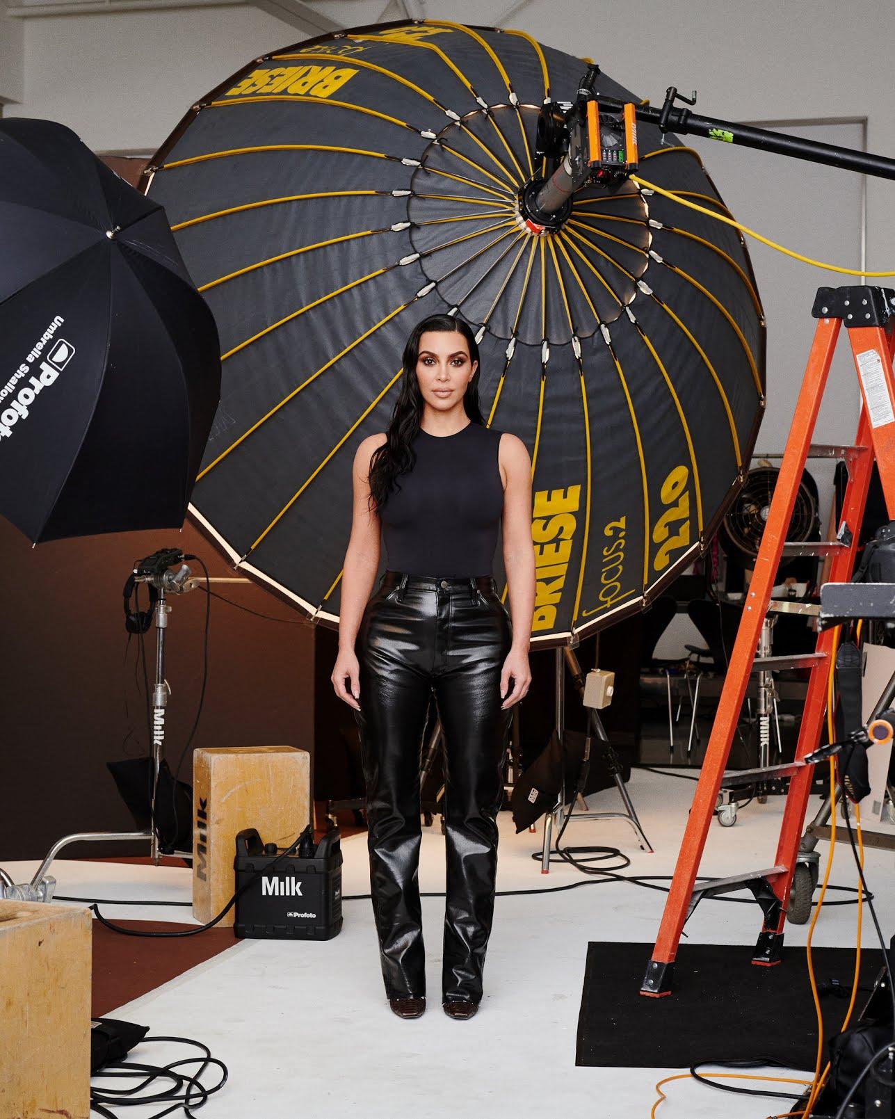 Kim Kardashian West in Jan. 2020.