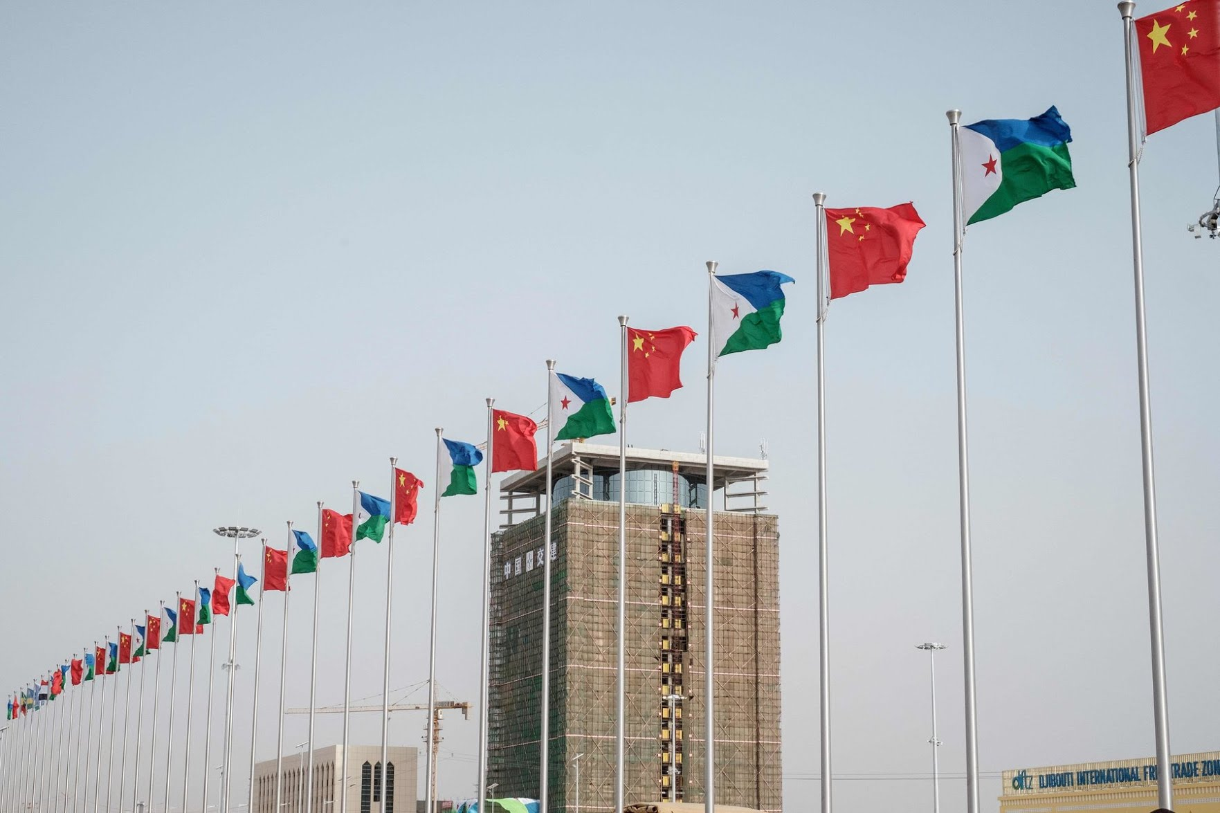 Djibouti's debts to China jumped to more than 80 percent of its annual economic output.