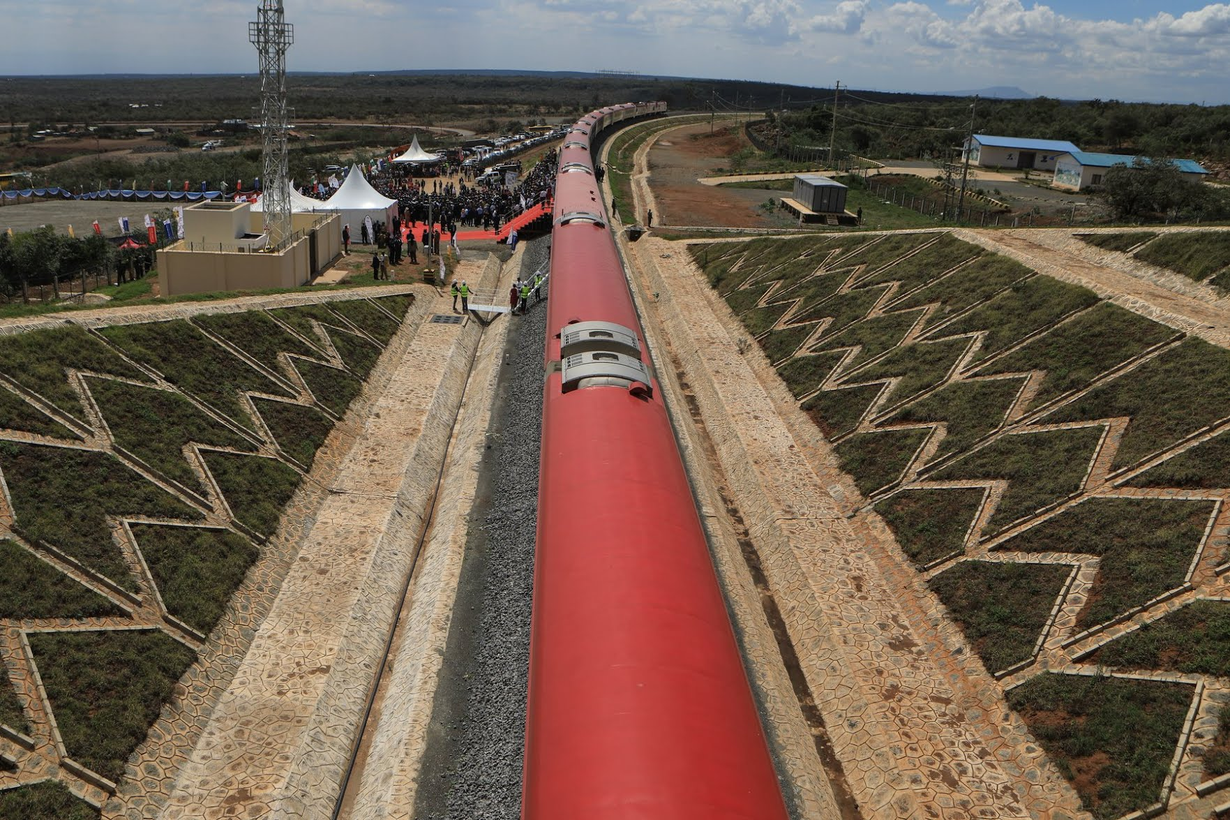 The Nairobi Naivasha SGR passenger train project was built by China Communication Construction Company and funded by Beijing.