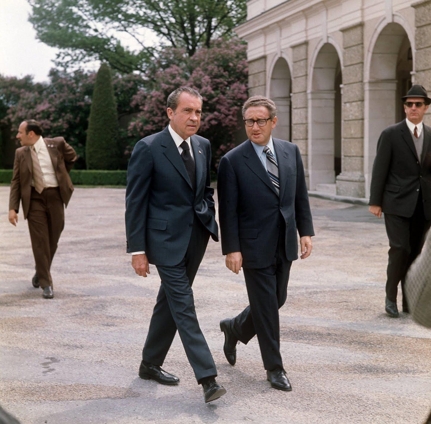 President Richard Nixon and his national security adviser, Henry Kissinger, in 1972.